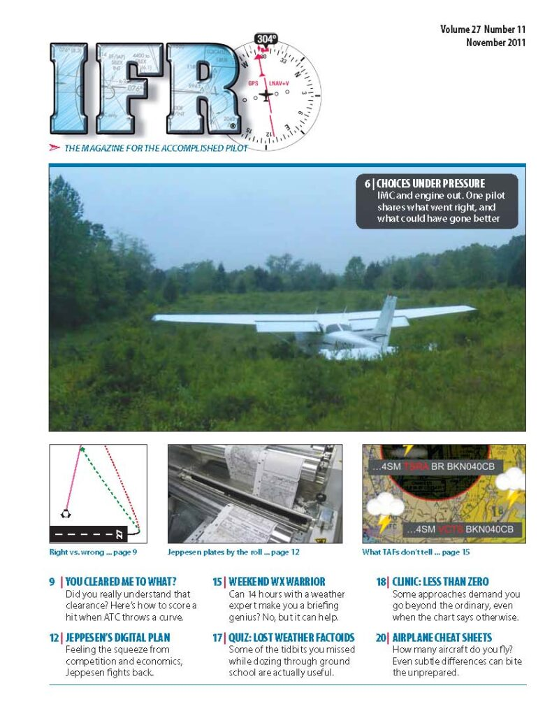 IFR Magazine Cover
